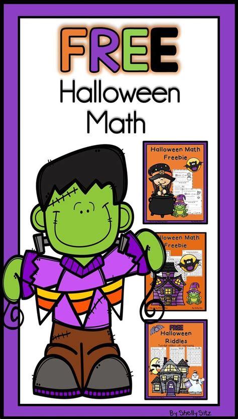 halloween math freebies   grade
