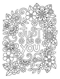 458 Best Floral Coloring Pages for Adults images