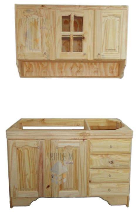 muebles de madera de pino interesting imagen mueble salon