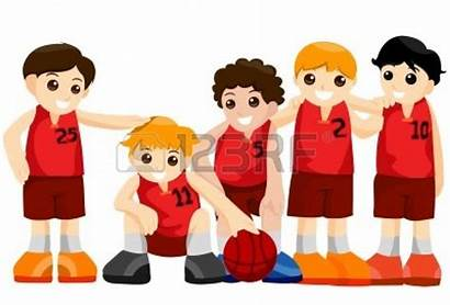 Basketball Team Clipart Vector Cliparts Clipping Path