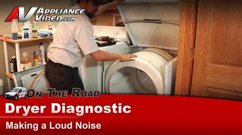 maytag whirlpool dryer diagnostic making loud noise pyeayw youtube