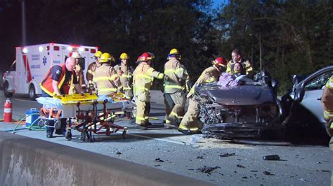 Driver Going Wrong Way On Mary Hill Bypass Sparks 5-car