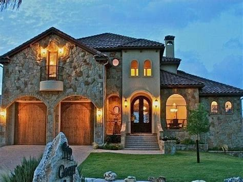 House Style : Small Tuscan Style House Plans Idea