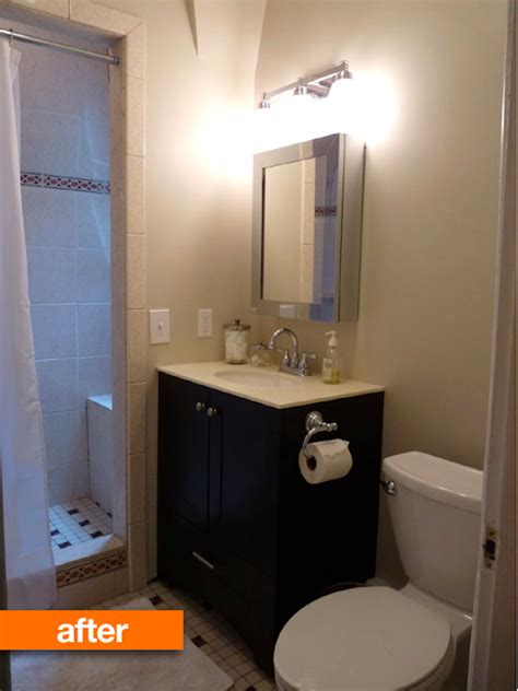 The Totally Manageable Mini Bathroom Remodel  Cabinet Kings