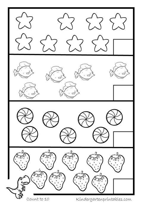 counting worksheets 6 10 nursery worksheets