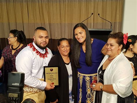 Young Tongan Achievers' Efforts Recognised In Night Of