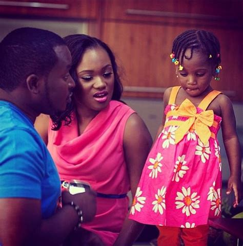 14 Nigerian Celebrities With Their Beautiful Wife And Kids