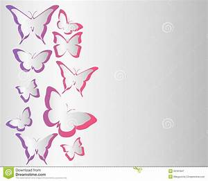 Butterfly background stock vector. Image of paper, banner ...