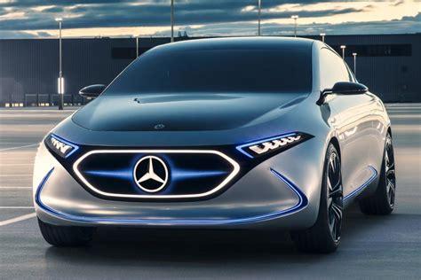 mercedes benz eqa concept awd electric hatchback