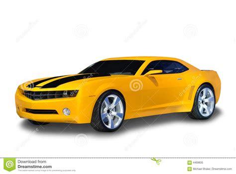 voiture de sport voiture de sport jaune photo libre de droits image 4469835