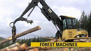 Caterpillar Forestry Product Line - YouTube