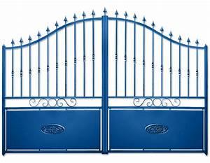 Portail 4 Metres 2 Vantaux : portails battants tous les fournisseurs portail ~ Edinachiropracticcenter.com Idées de Décoration