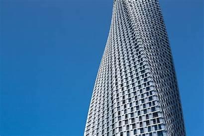 Tower Cayan Dubai Som Architecture Twisting Skyscrapers