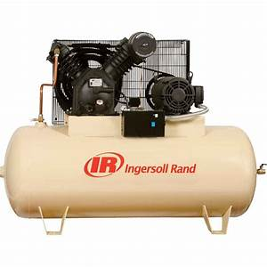 Ingersoll Rand 5hp Two Stage Electric Driven Air Compressor