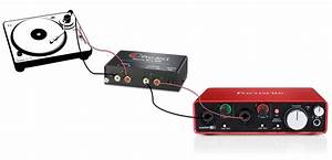 How Do I Record My Vinyl Turntable  Record Deck Through My Focusrite Interface   U2013 Focusrite Audio