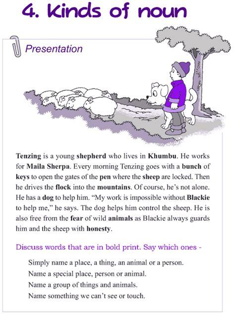 grade 4 grammar lesson 4 kinds of nouns grammar