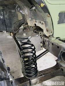 For The Upper Coil Buckets On The Front Of The Jeep  We