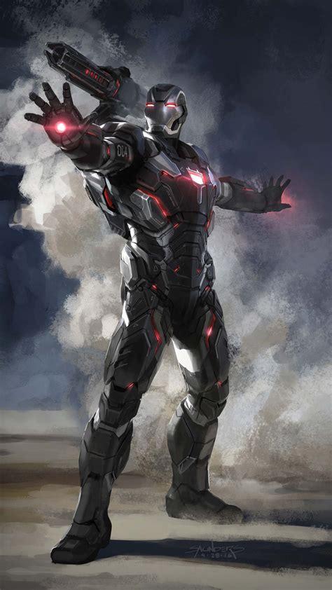 Avengers Endgame War Machine Armor iPhone Wallpaper ...