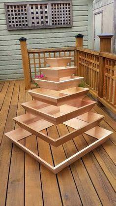diy pyramid planter garden planters garden design backyard