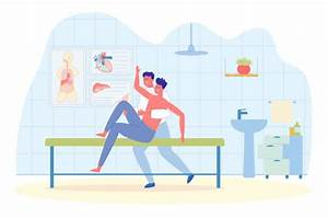Manual Therapy Illustrations Illustrations  Royalty