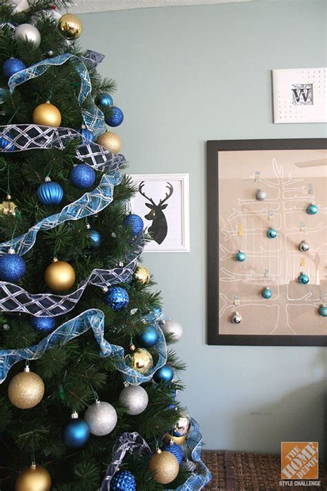 blue and gold christmas trees mesmerizing blue tree decorations celebration all about