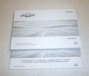 2011 Chevrolet Aveo Owners Manual Guide 11 Set Ls Lt