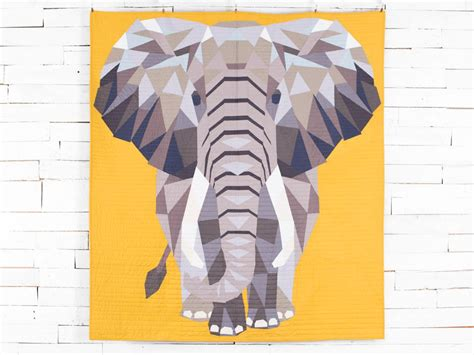 Animal Quilt Patterns With A Fun, Modern Design Style