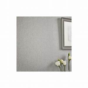 Superfresco Easy Paste the Wall Calico Grey Wallpaper at ...