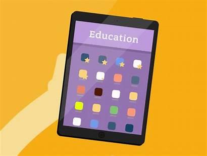 Ipad Apps Education Many Dribbble Icon Users
