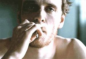 Michael Fassbender Smoking GIF - Find & Share on GIPHY