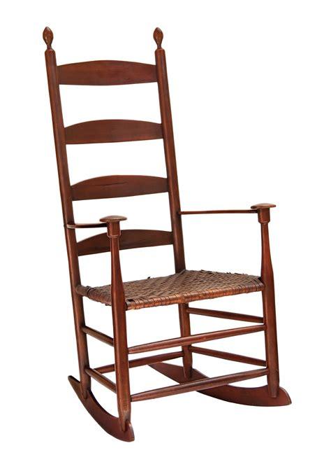 lot 107 elder s rocking chair willis henry auctions inc