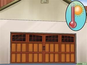 comment peindre une porte de garage 12 etapes With peindre une porte de garage