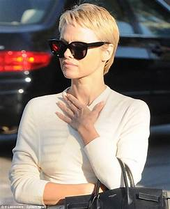 Pamela Anderson Dbuts New Pixie Hair Cut With Boyfriend
