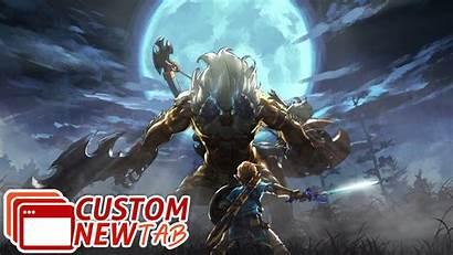 Breath Zelda Wild Legend Wallpapers Newtabsy Backgrounds