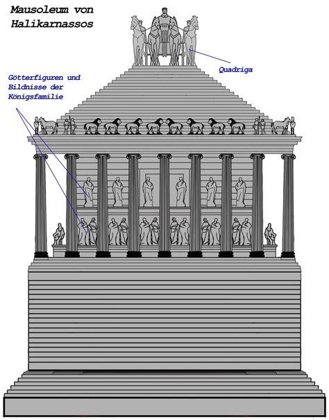 mausoleum von halikarnassos kunst und kultur sieben