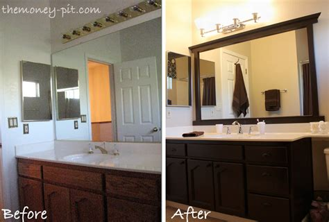 above sink lighting there are a ton of tutorials out there on how to frame a