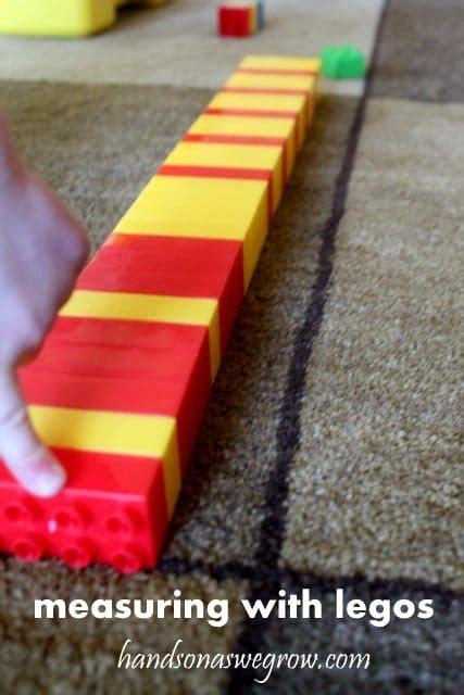 block patterning  legos  preschoolers hands