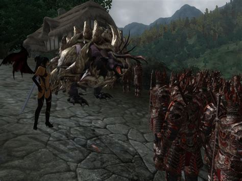 dremora skeleton army elder scrolls oblivion mods images