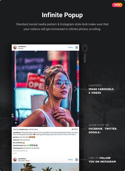 Instagram Feed  Jquery Plugin For Instagram By Elfsight