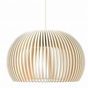 Suspension Luminaire Bois : luminaires suspension en bois ~ Teatrodelosmanantiales.com Idées de Décoration
