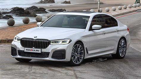 Bmw 5 серии 520d xdrive vii (g30/g31) рестайлинг. 2021 BMW 5 Series LCI Rendered, Comes With Huge Grille ...