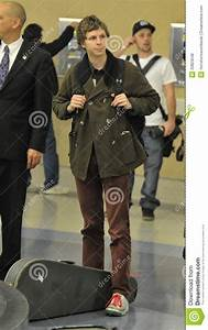 Actor Michael Cera At LAX Airport Editorial Stock Photo ...