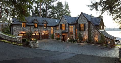 This Bellevue Family's Romantic Stone Home Evokes Old