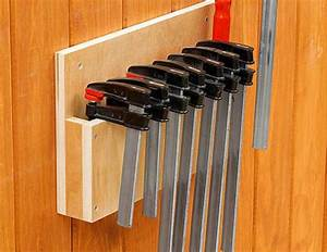 7, Clever, Clamp, Storage, Ideas, For, A, Small, Workshop