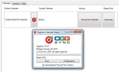 oggsyncit tutorial sync google calendar  outlook