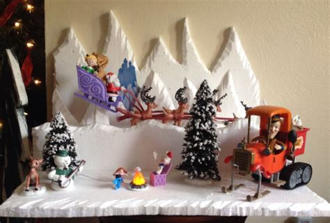 christmas decorations for the land of misfits island of misfit toys display work decor ideas for occasions decorations