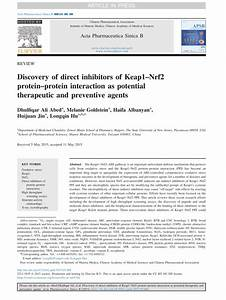 (PDF) Discovery of direct inhibitors of Keap1–Nrf2 protein ...