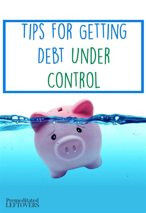 Tips For Getting Debt Under Control