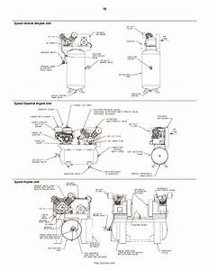 Ingersoll Rand 2340 2475 2545 7100 15t 3000 Two Stage Air Compressor Owners Owners Manual