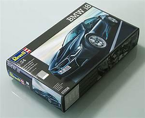 製作記 Revell 1/24 BMW i8 (11) | プラモ日記 青22号